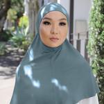Nasiba Fashion 1pc Hijab Brittany blue (J)