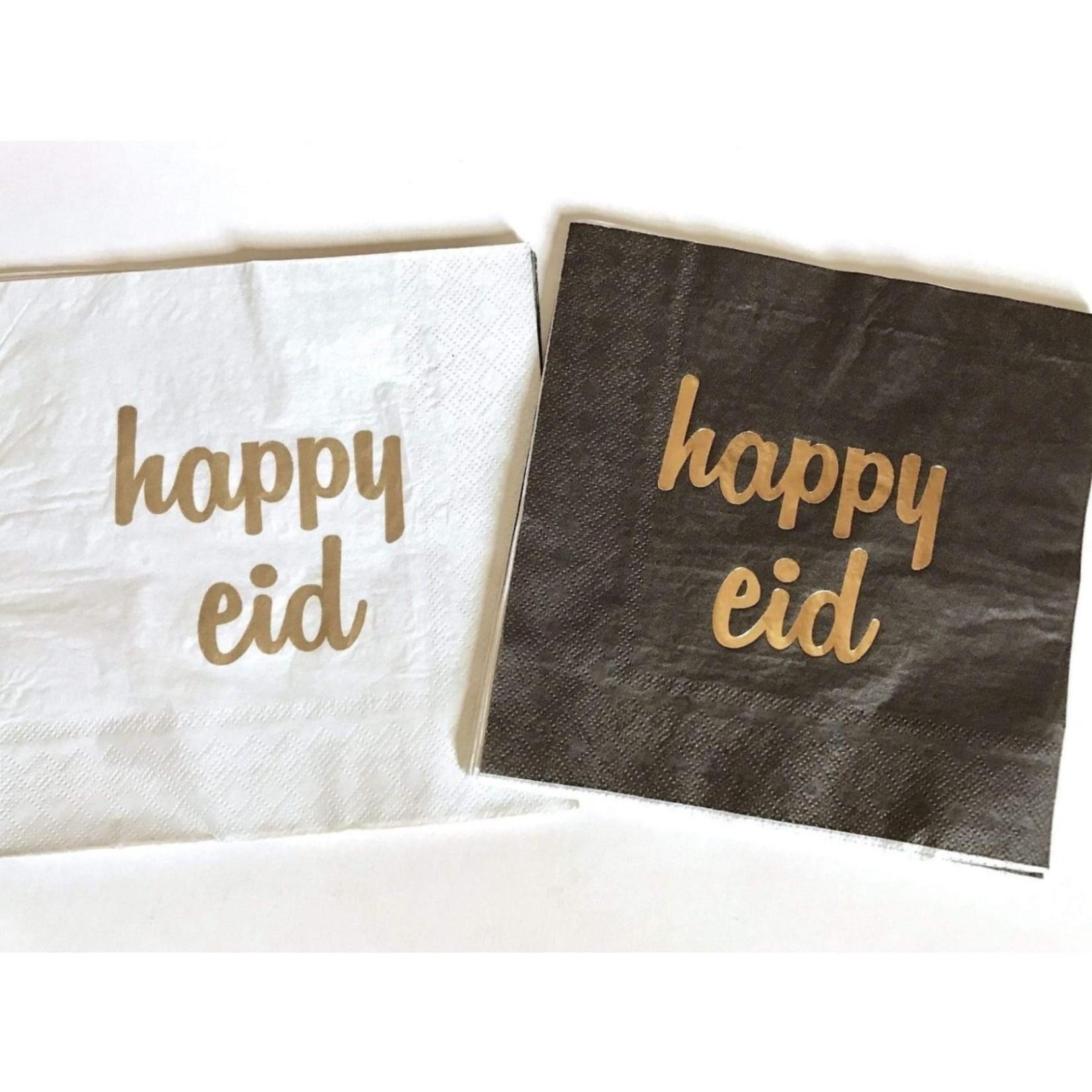 Eid Creations Happy Eid Dinner Napkins