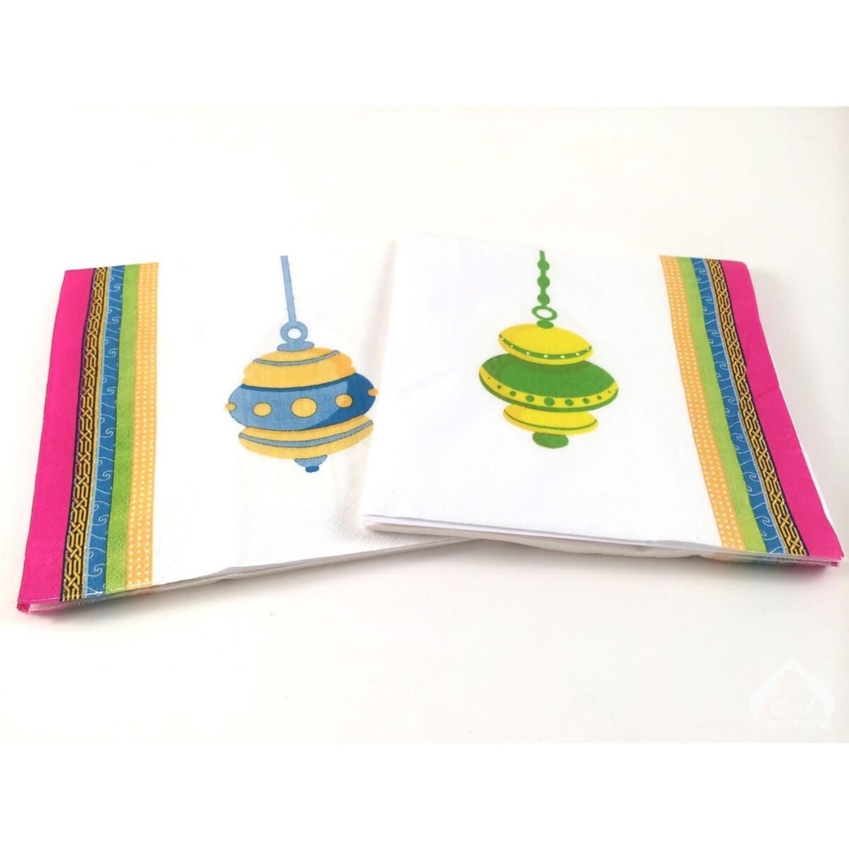 Eid Creations Ornament Dinner napkins