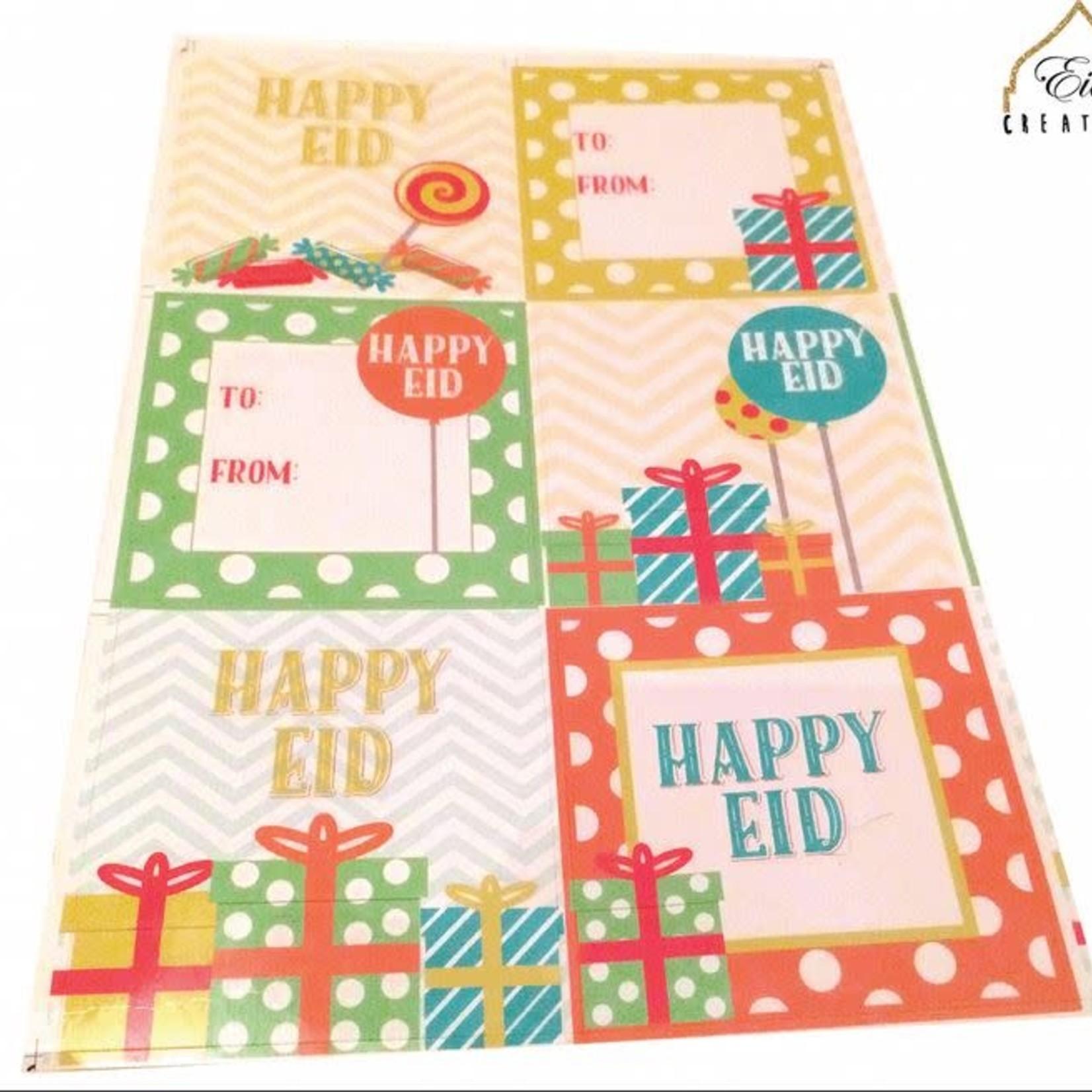 Eid Creations Happy Eid Stickers