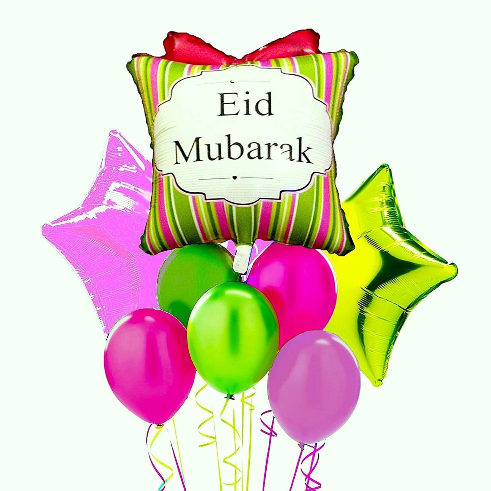 Eid Creations Shabby Zee Mylar Helium balloon