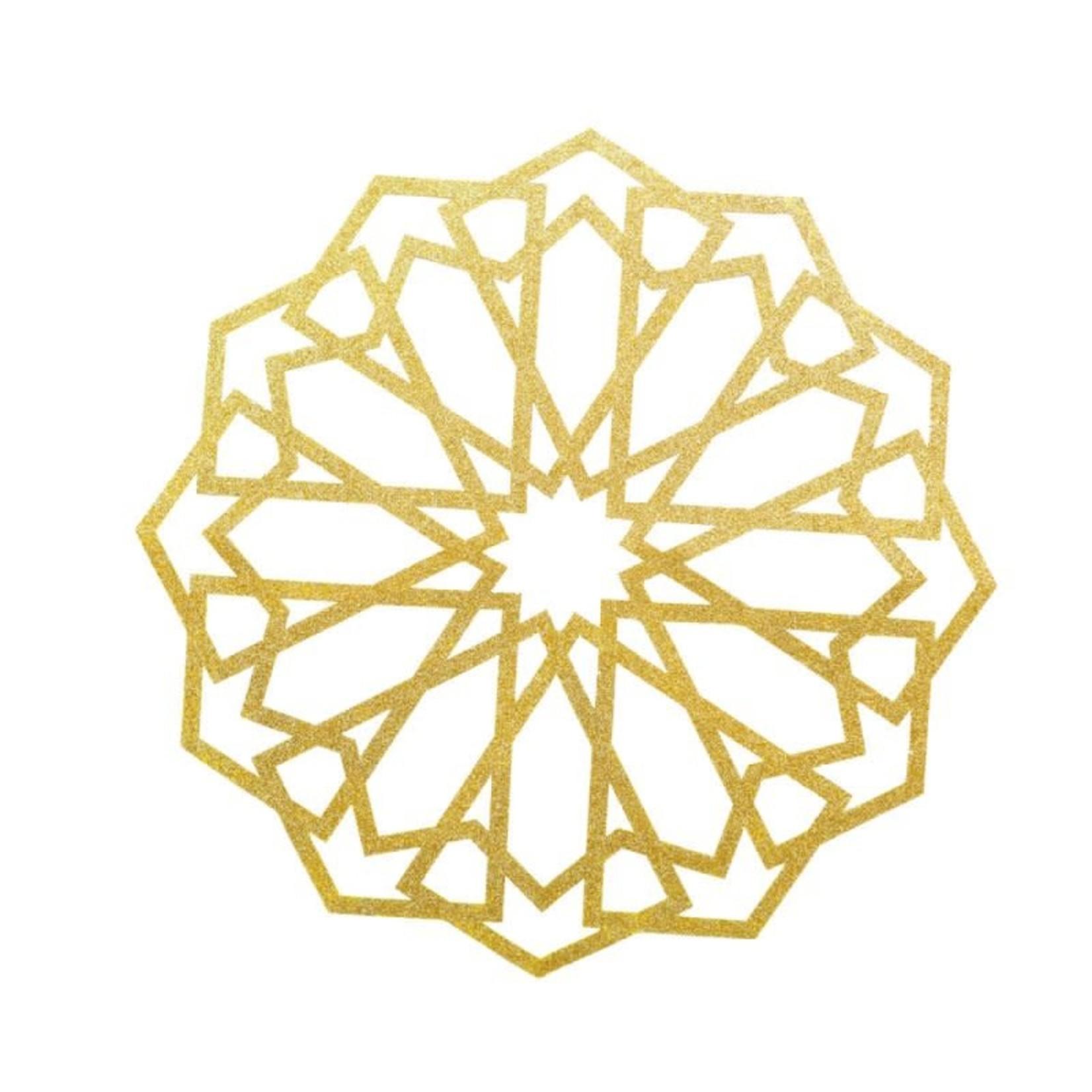 Eid Creations Marrakesh Gold Wall Decal
