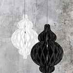 "Eid Creations White Honeycomb Lantern 8"""