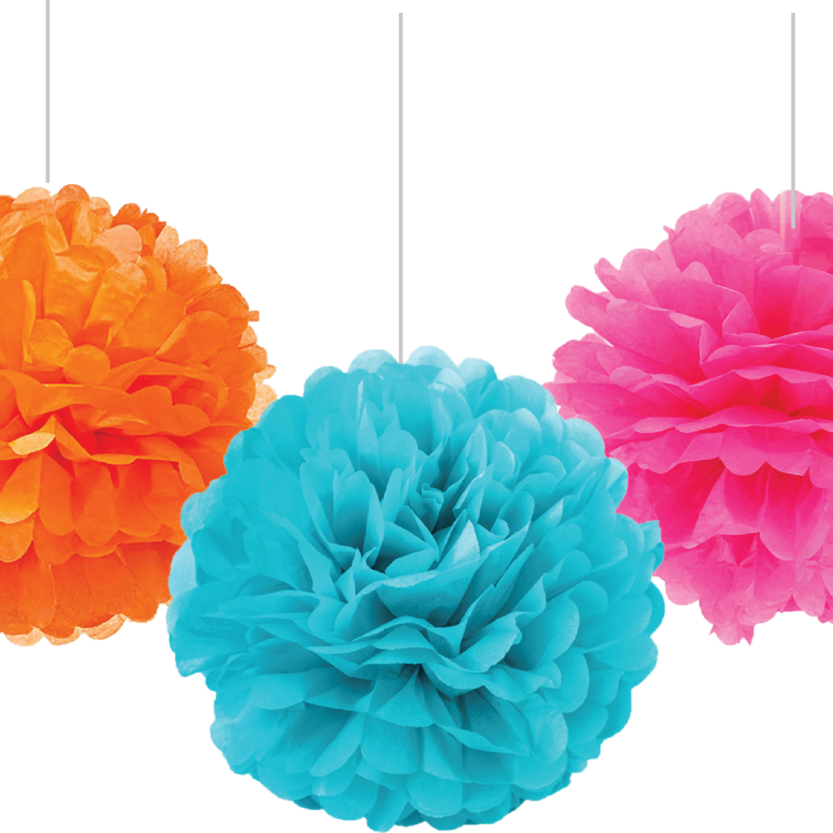 Eid Creations Colourful Pompom Set