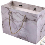 Eid Creations Carrara Marble Gift Bag