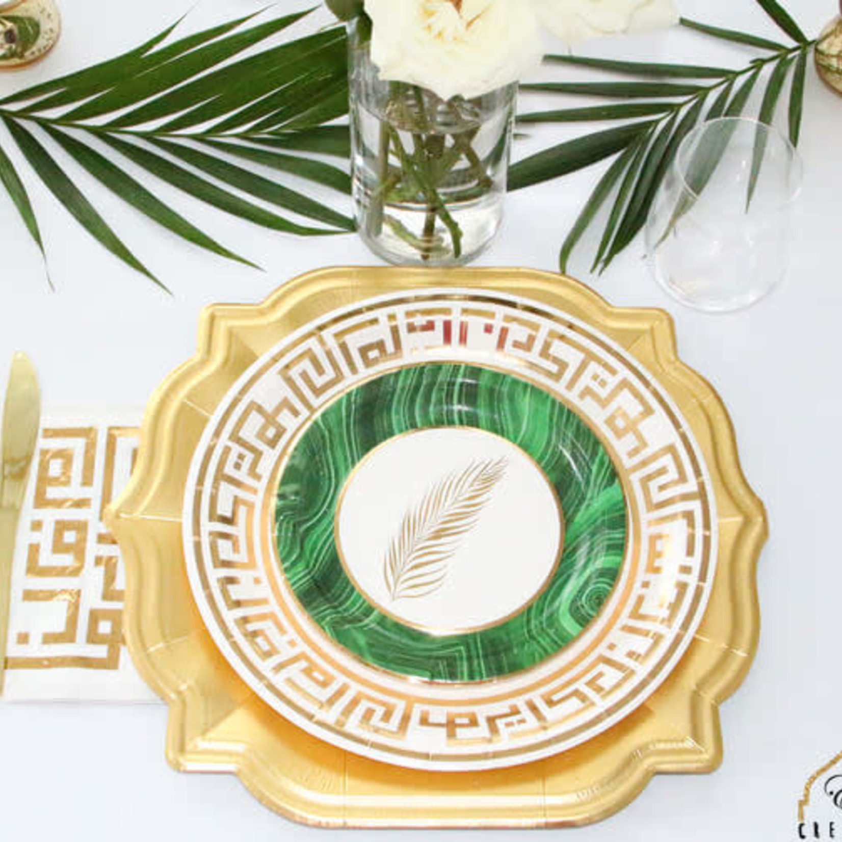 Eid Creations Dome Charger Plate