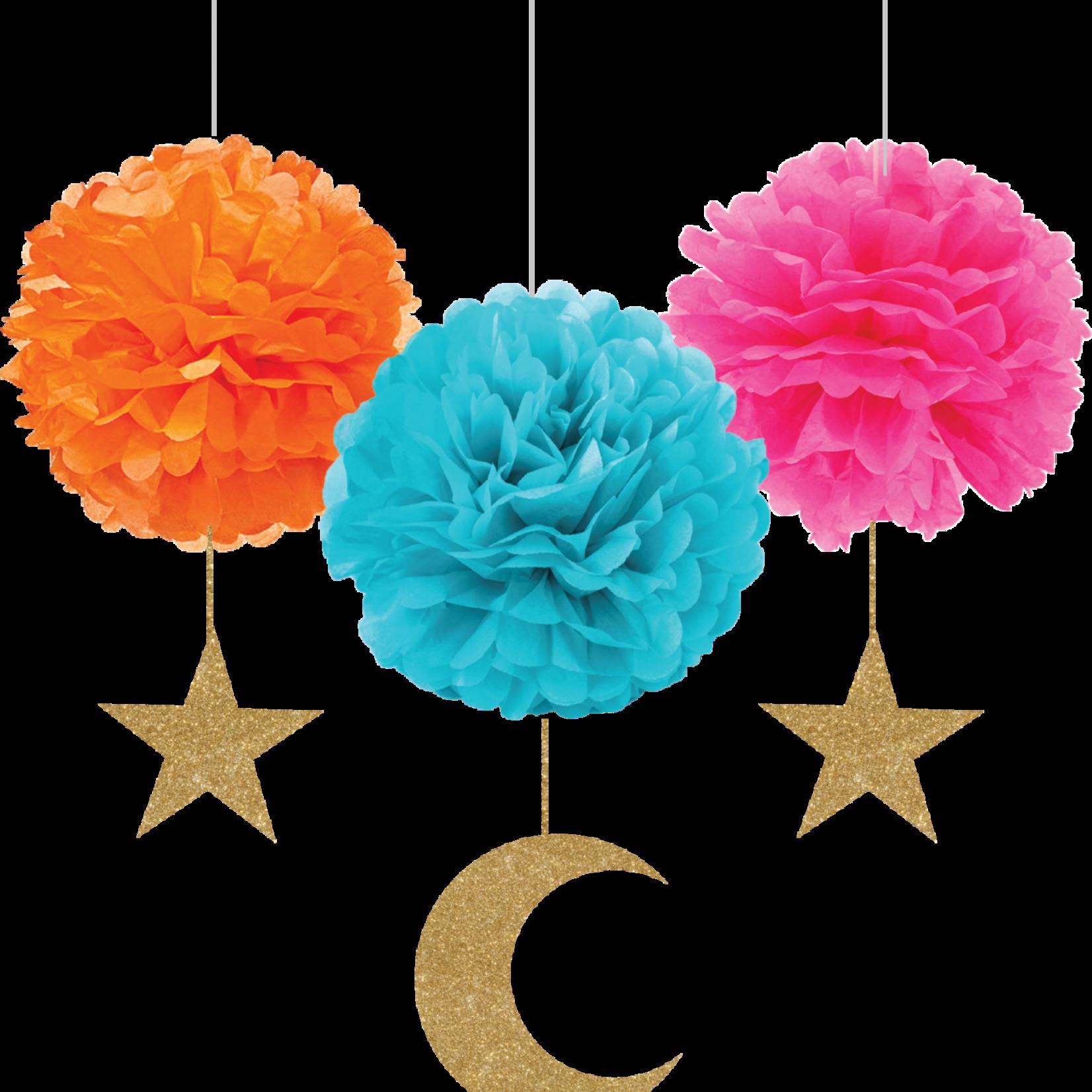 Eid Creations Cresent & Star Madallions
