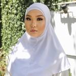 Nasiba Fashion 2pc Hijab White (C)