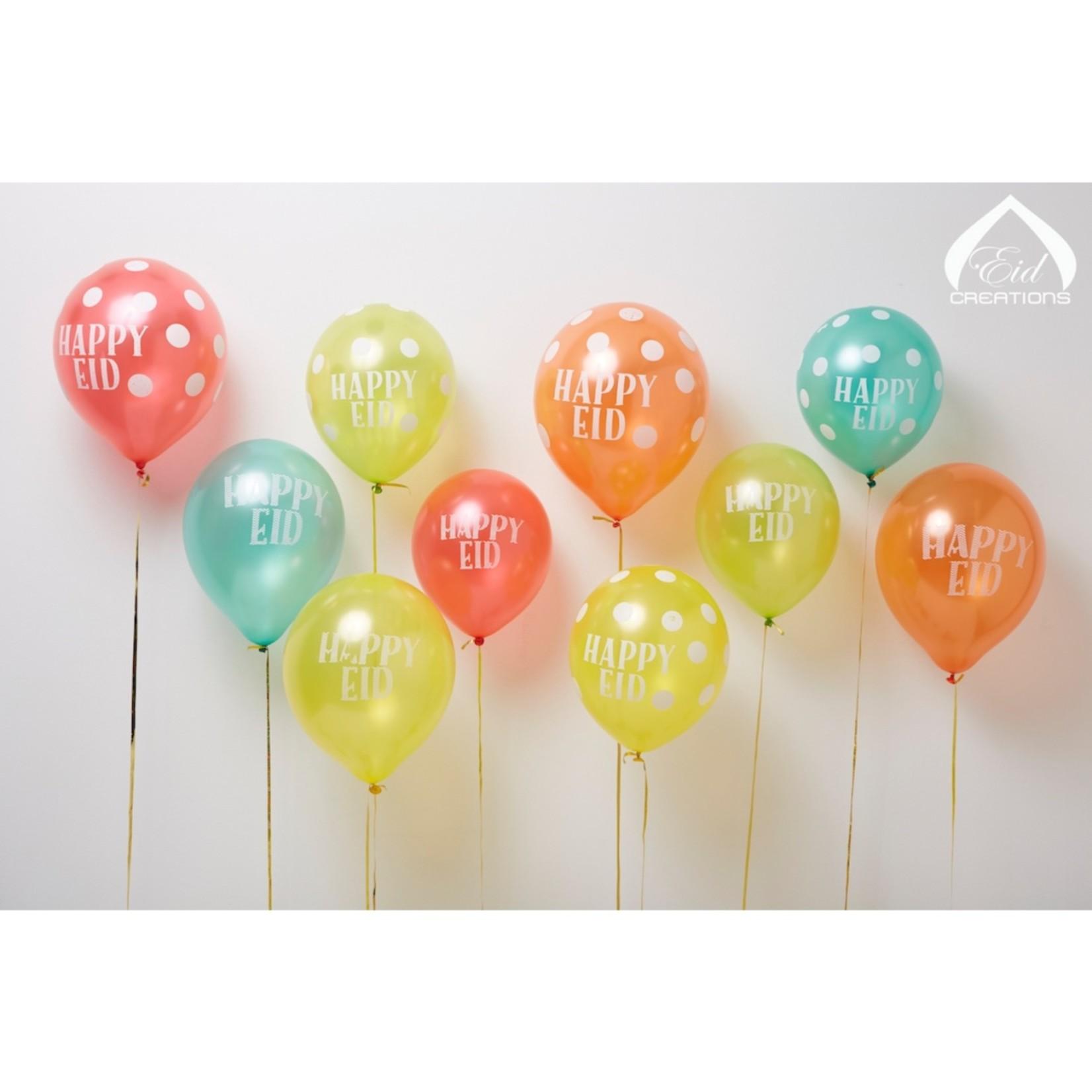 Eid Creations Happy Eid Balloons