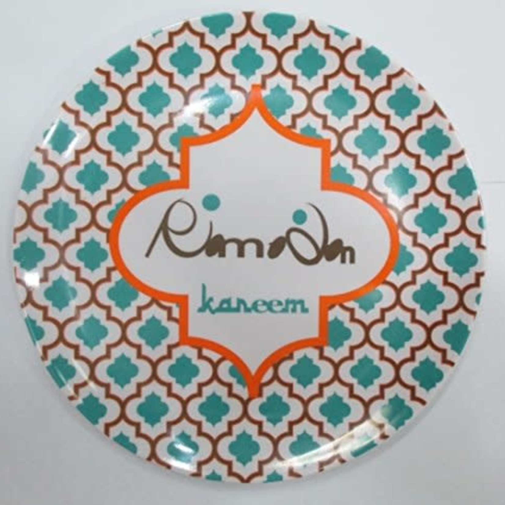 Eid Creations Arabesque Malamine Dessert Plates 4pk