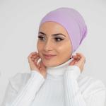 Nasiba Fashion Headband Sheer lilac