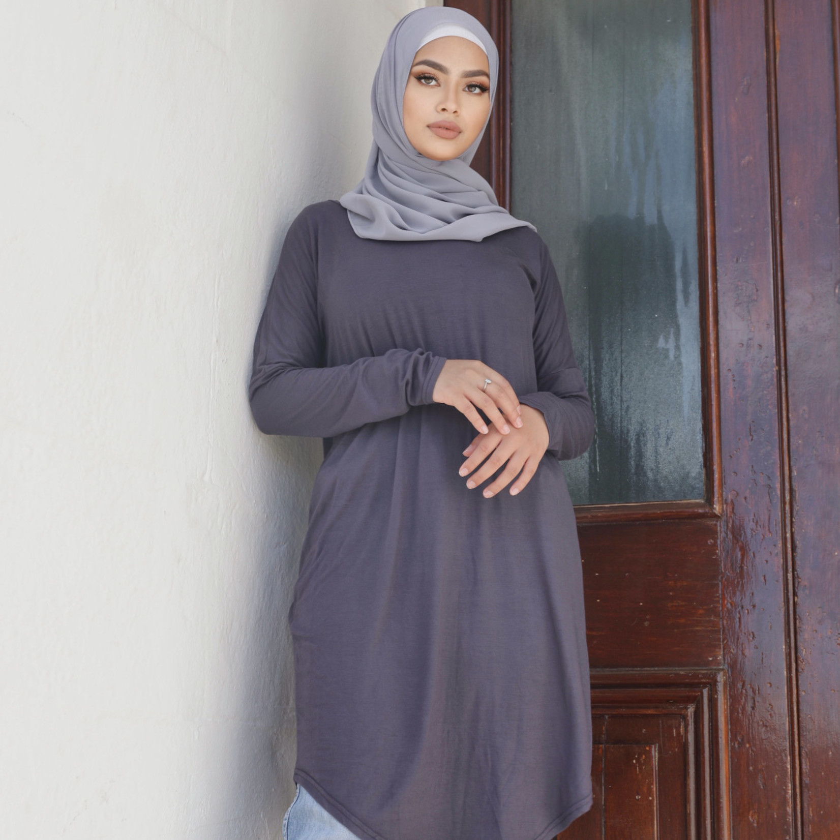 Nasiba Fashion Magnet Dolman Midi Top