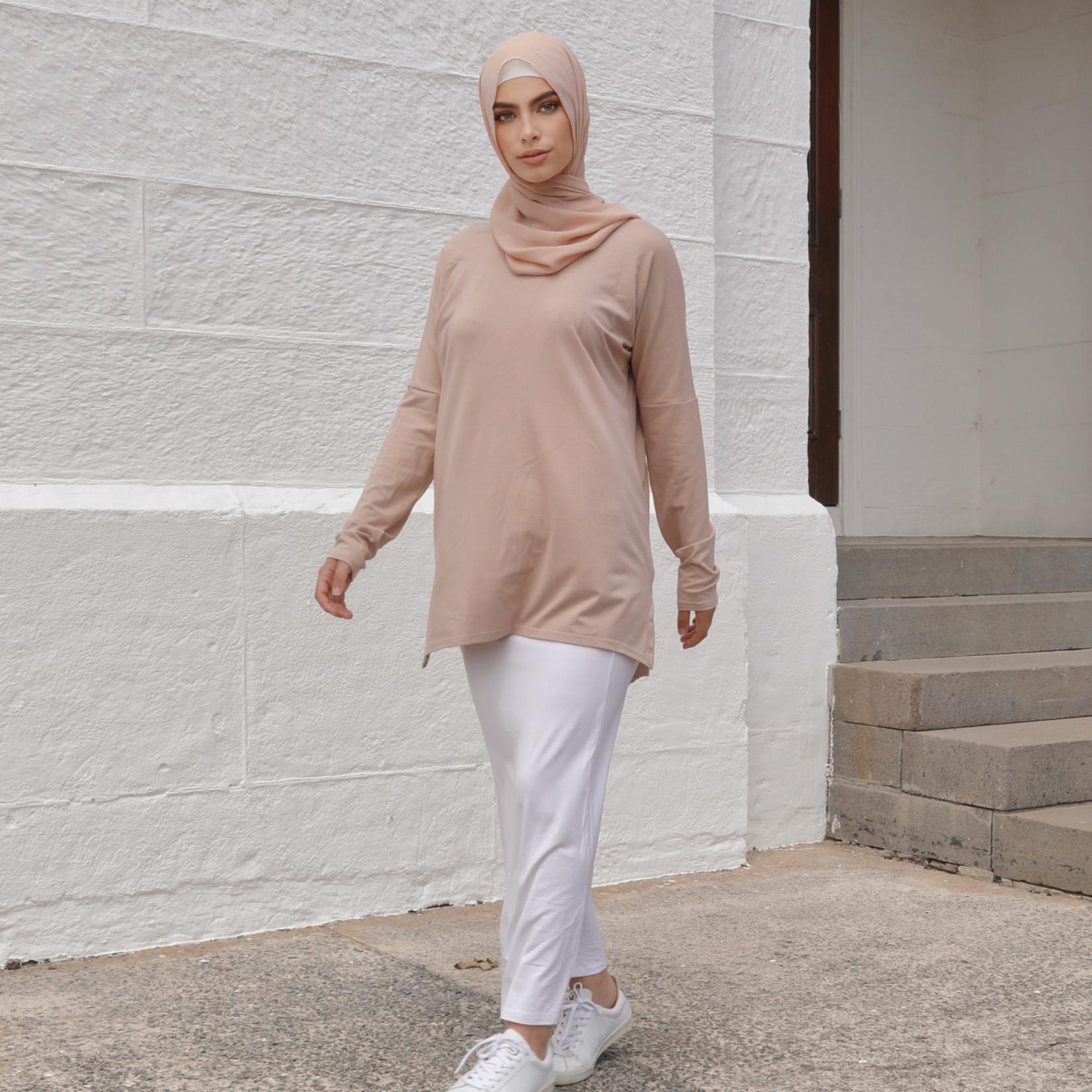 Nasiba Fashion Soft Shell Dolman Top