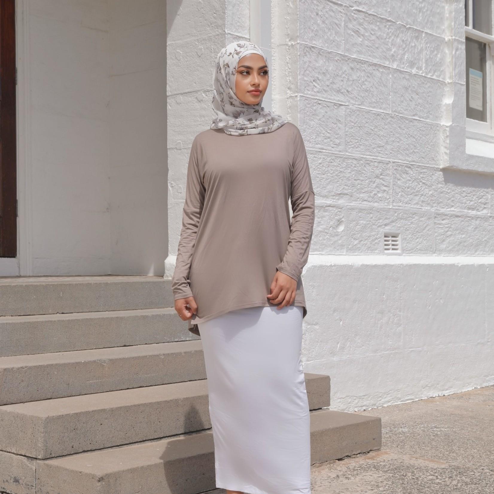 Nasiba Fashion Expresso Dolman Top