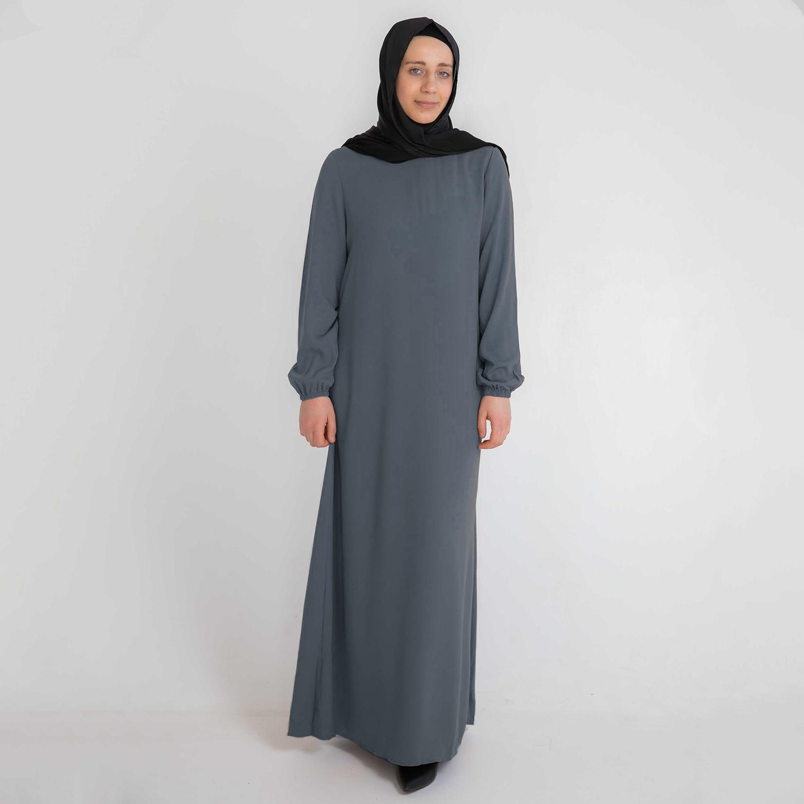Nasiba Fashion Anchor Cuffed Abayah