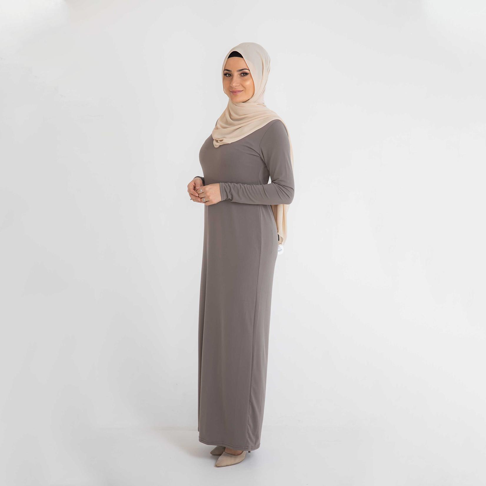 Nasiba Fashion Body Dress Espresso