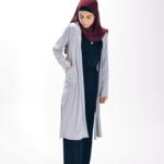 Nasiba Fashion Grey Girls cardigan