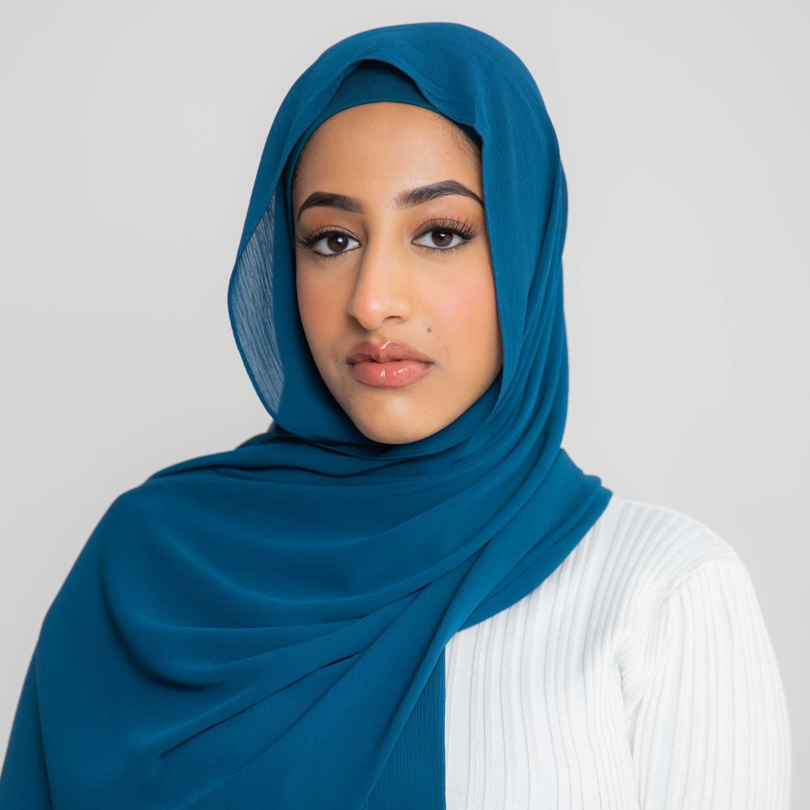 Nasiba Fashion Luxe Crepe Shawl Balsam