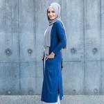 Nasiba Fashion Basic Cardigan Navy