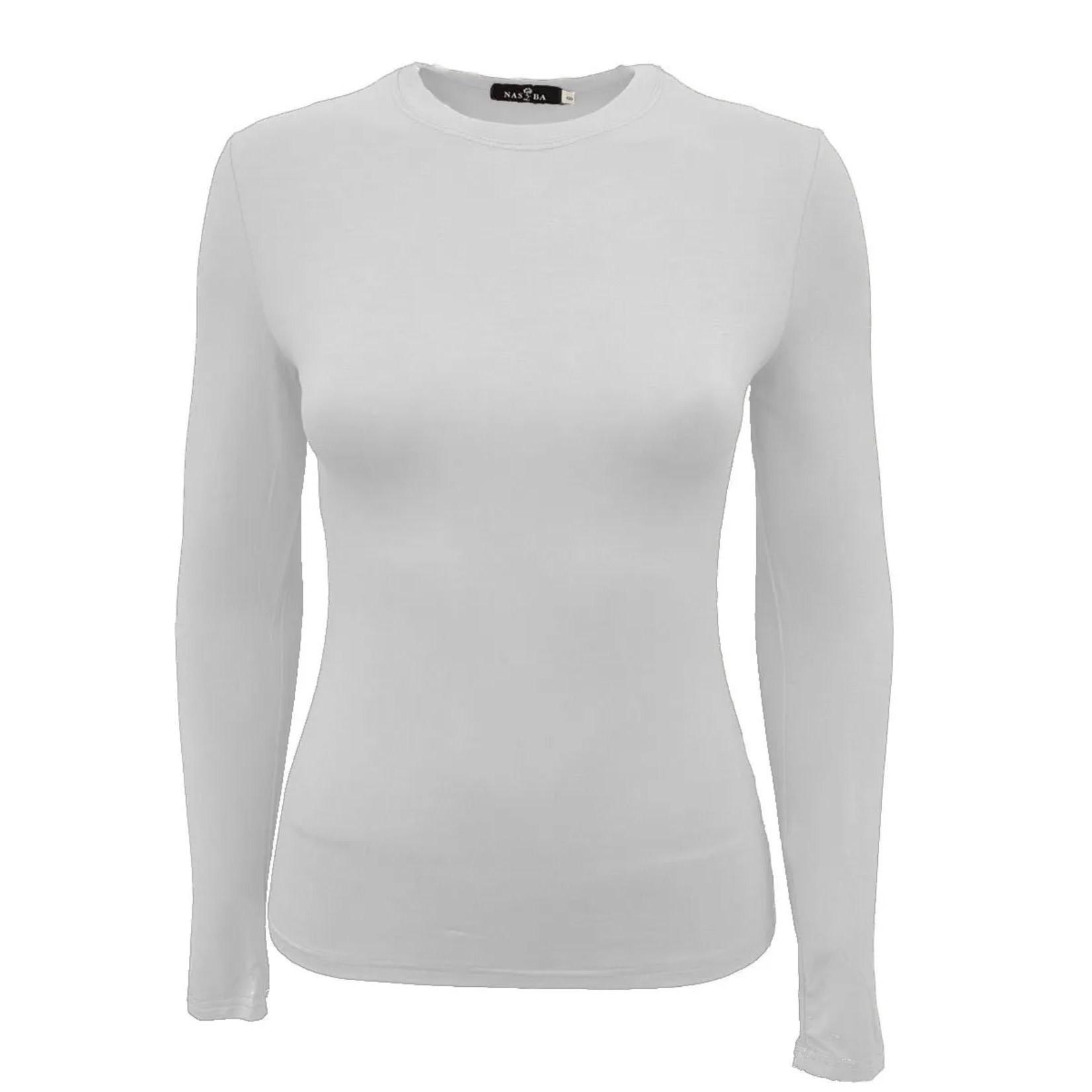 Nasiba Fashion Short Top Off-White
