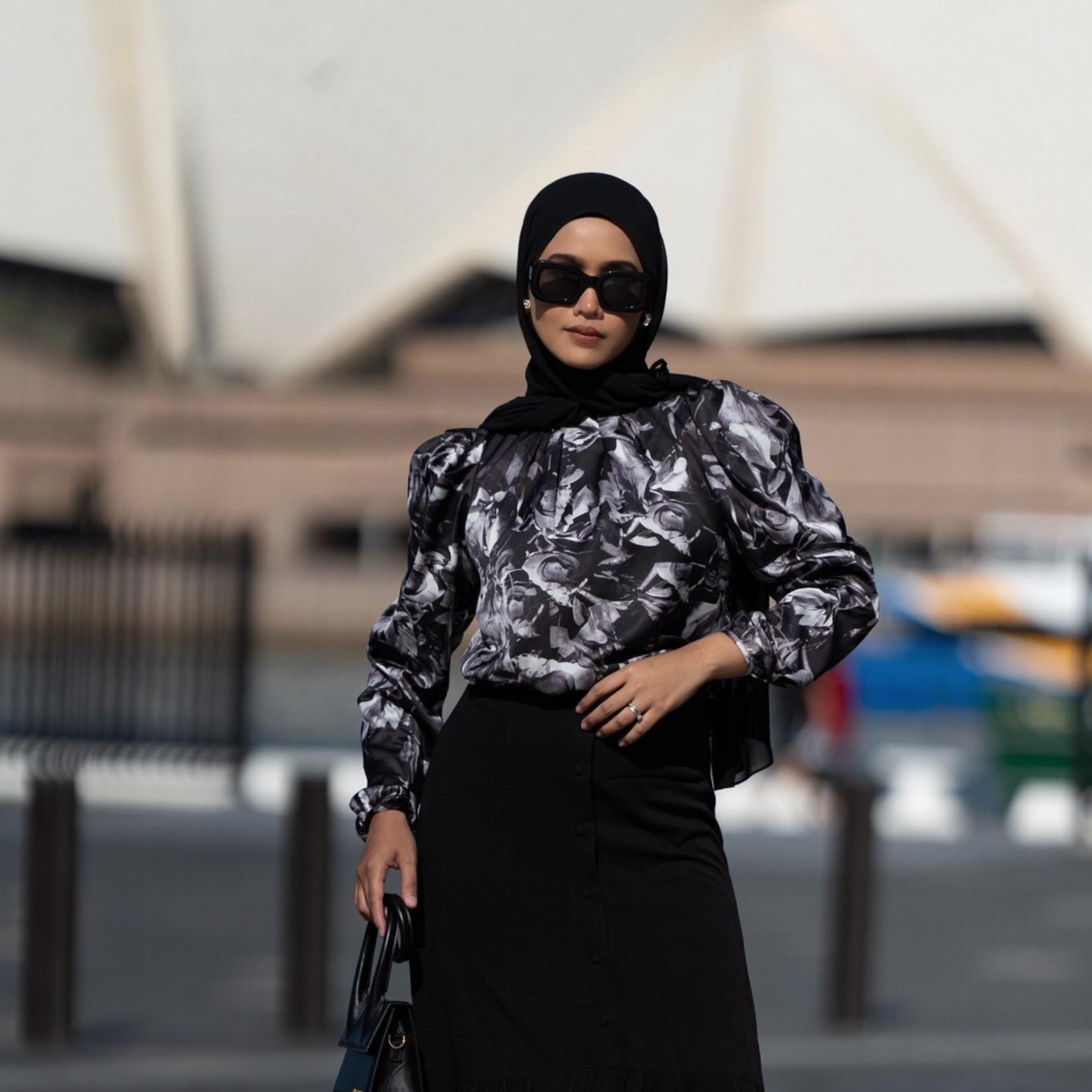 Hijab House Oxidized Blouse