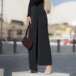 Hijab House Pleated wrap trousers