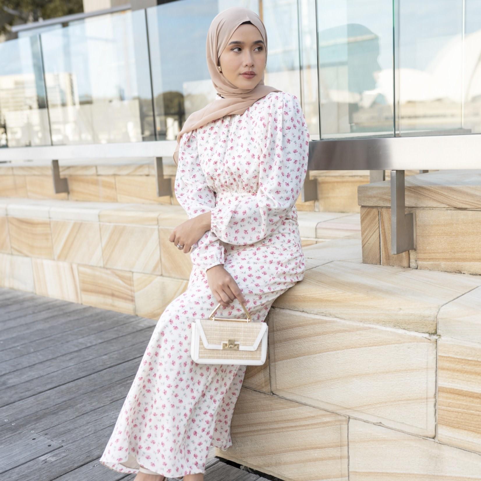 Hijab House Dawn floral dress