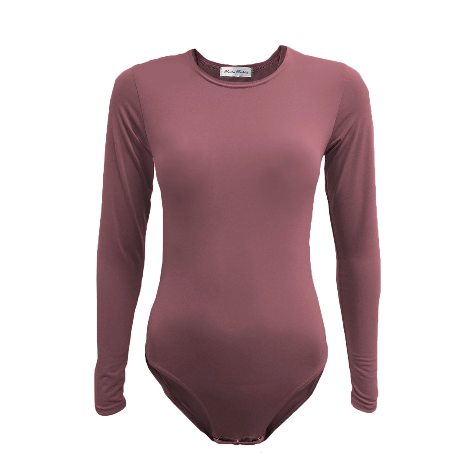 Nasiba Fashion Dusty Rose Bodysuit