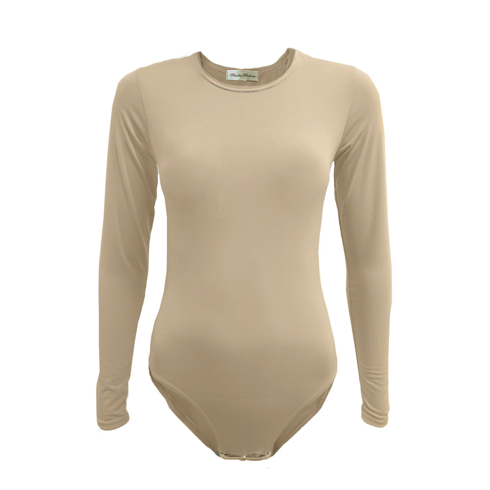 Nasiba Fashion Nude Bodysuit