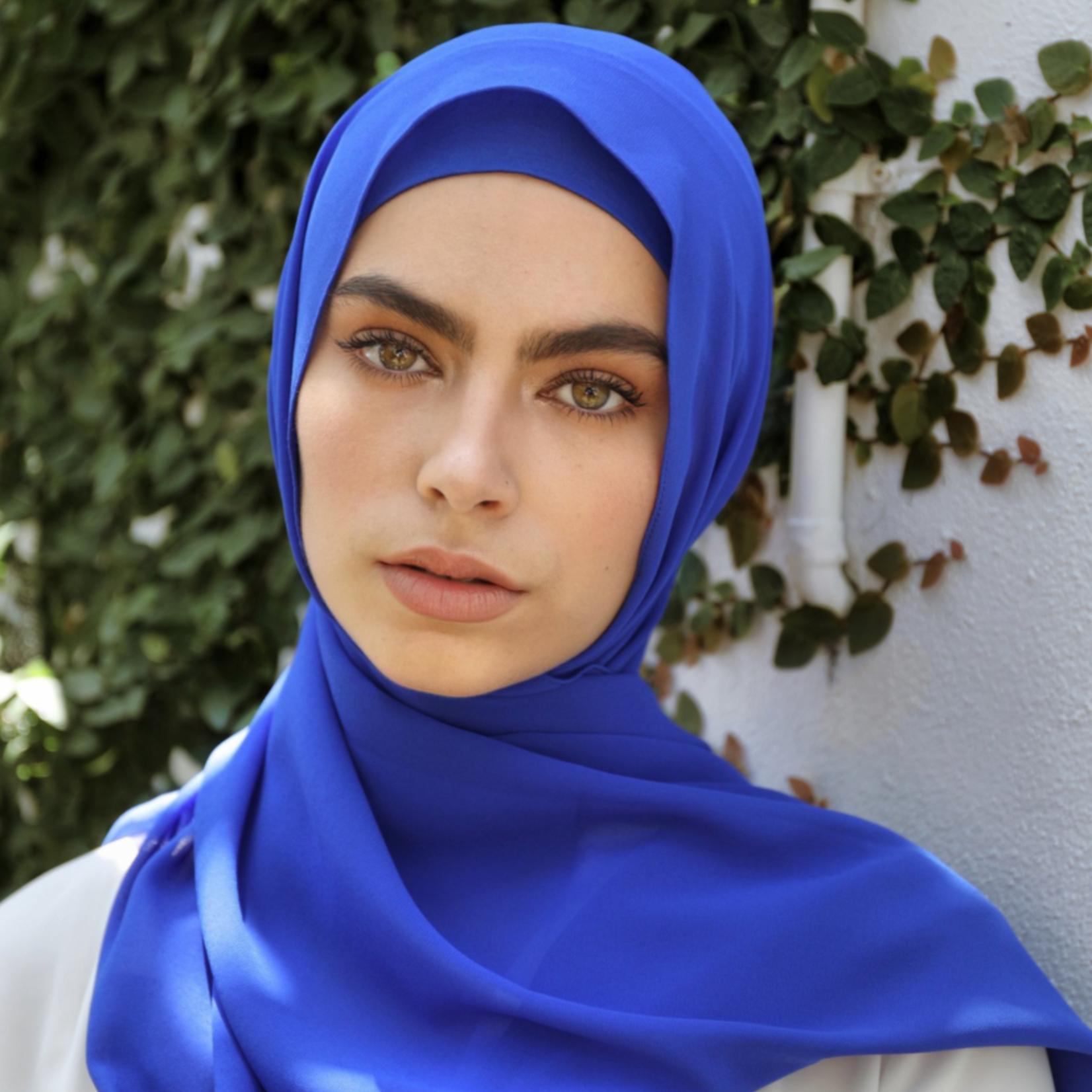 Nasiba Fashion Blue Scarf