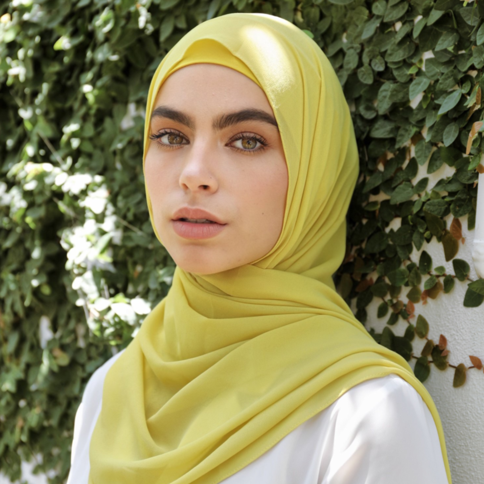 Nasiba Fashion Shawl Ceylon Yellow