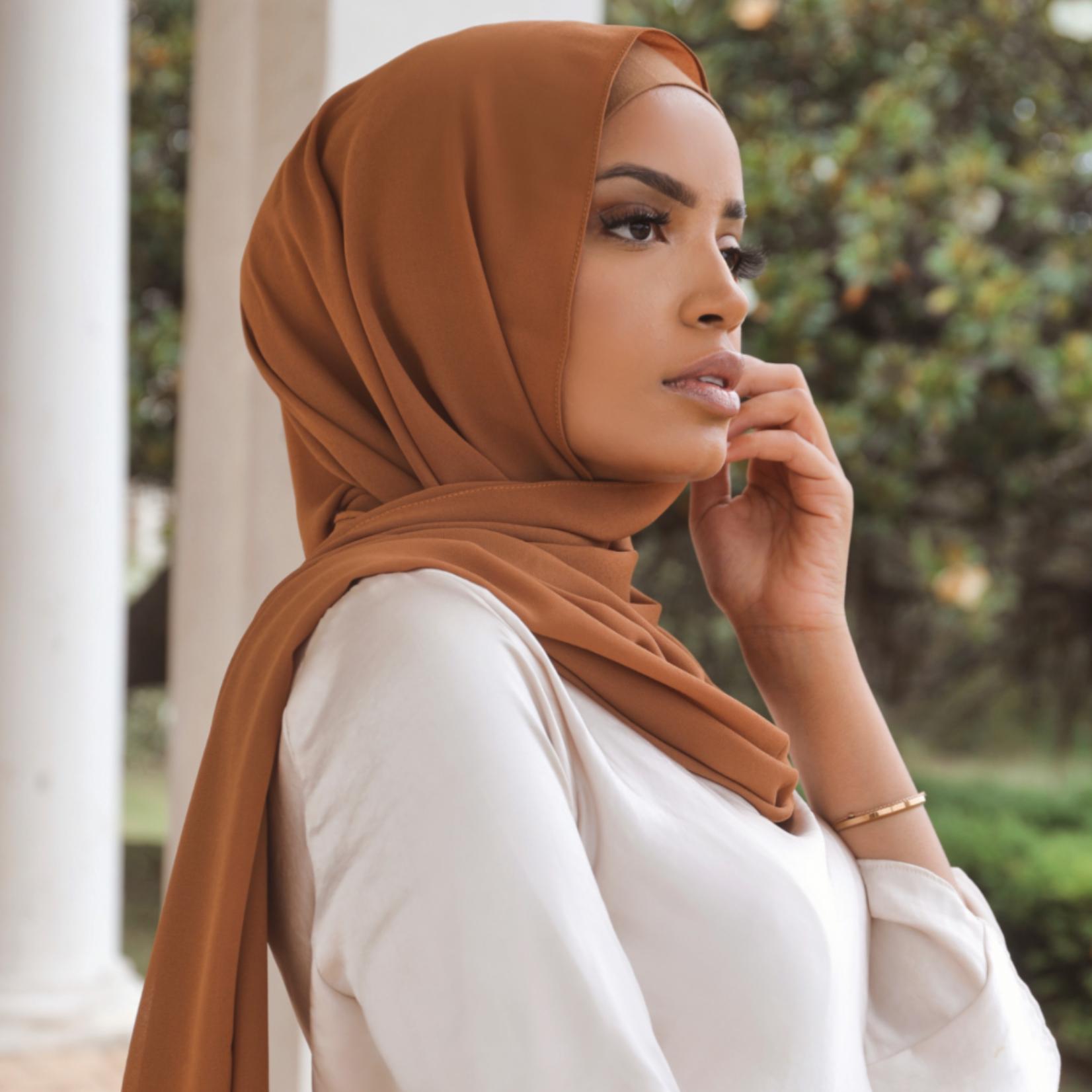 Nasiba Fashion Shawl Caramel