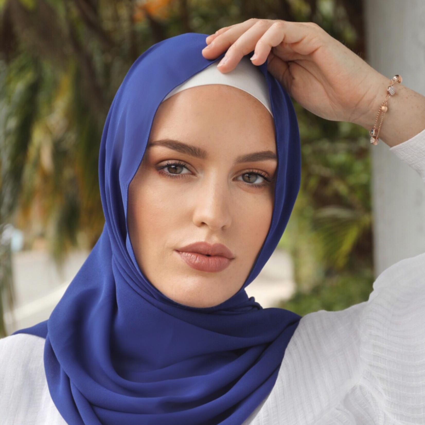 Nasiba Fashion Shawl Egyptian Blue