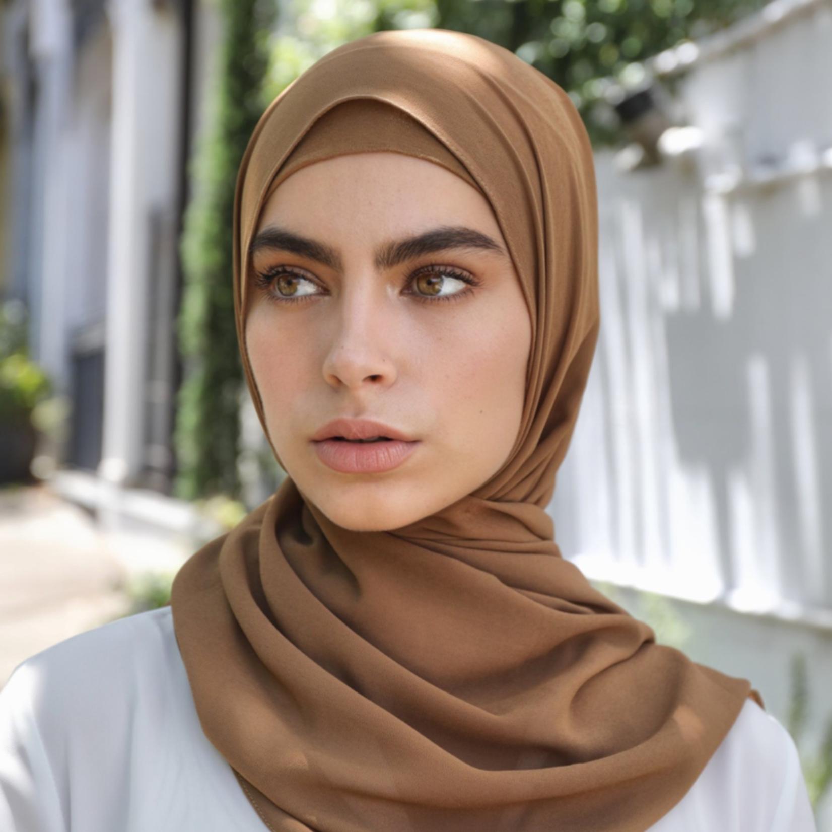 Nasiba Fashion Light Rosewood LRG scarf