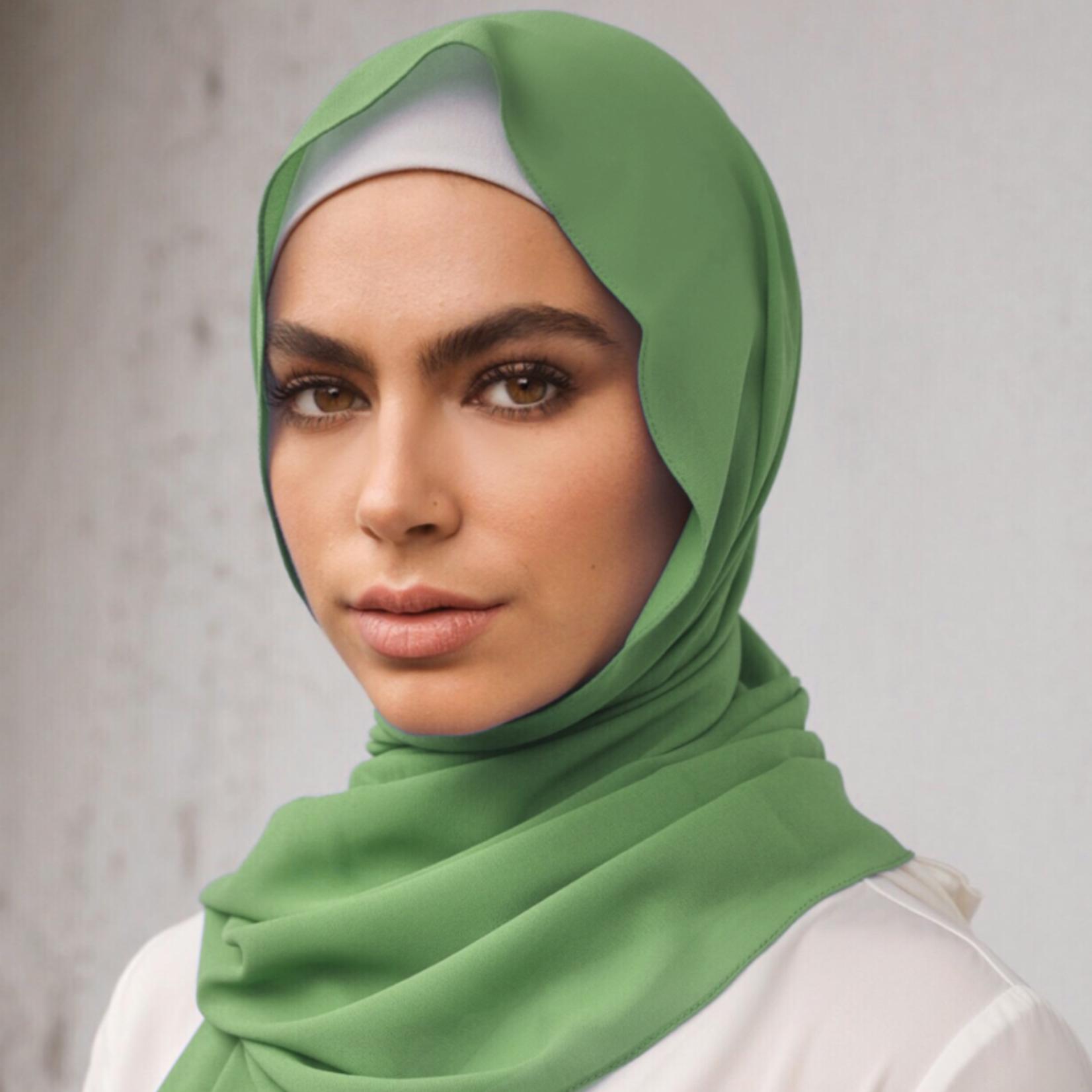 Nasiba Fashion Mid Green Scarf