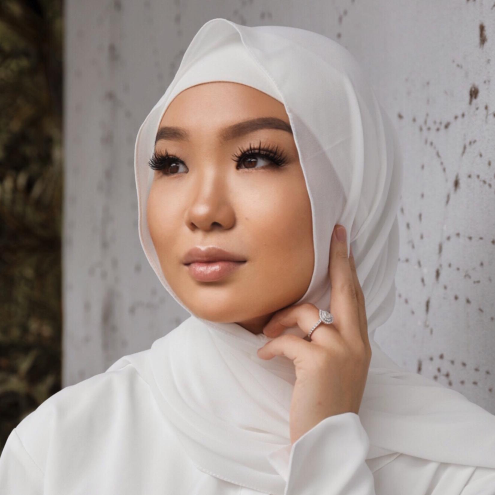 Nasiba Fashion Shawl Off-white