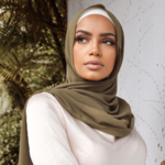Nasiba Fashion Olive LRG Scarf