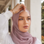 Nasiba Fashion Pale Lilac  Scarf