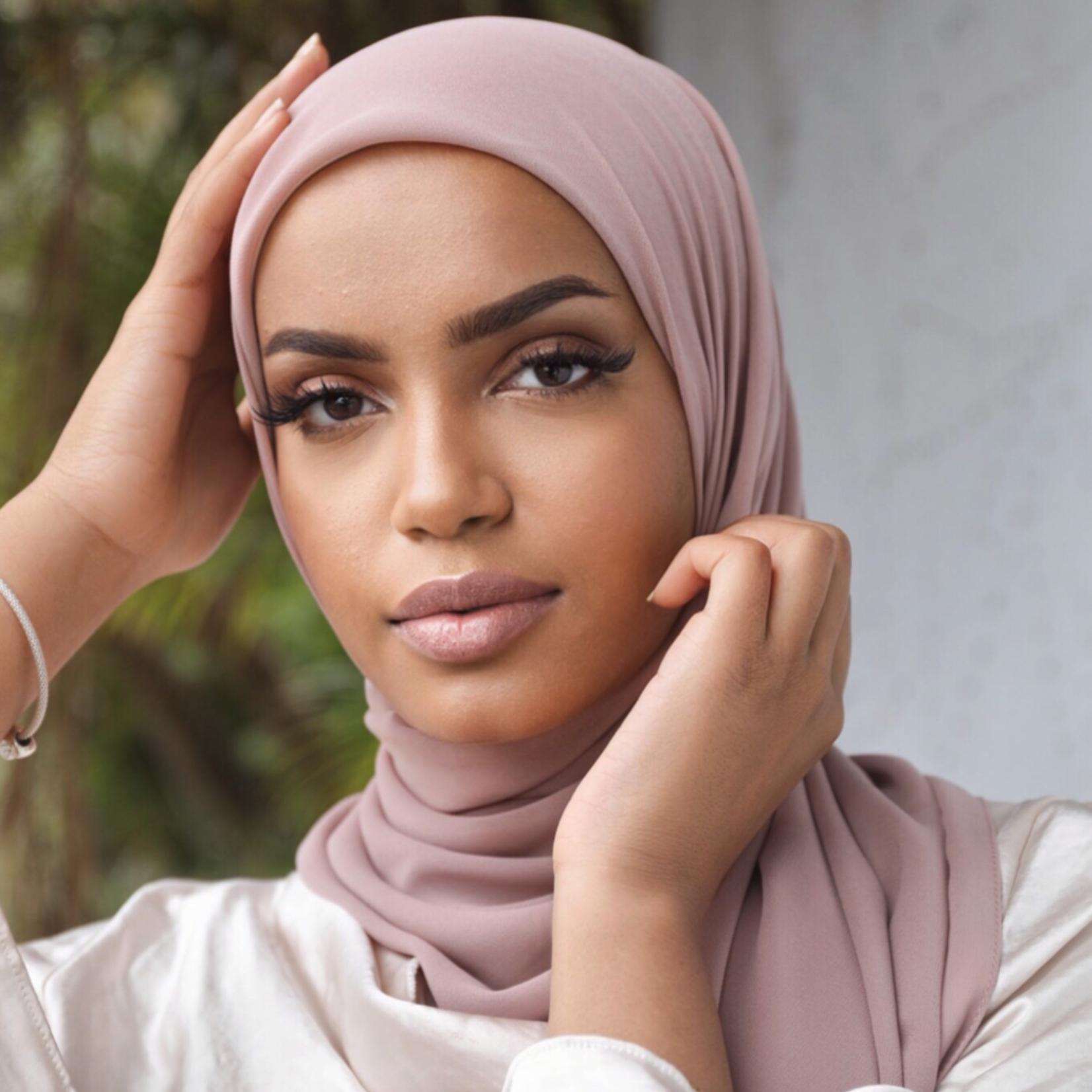 Nasiba Fashion Pearl Pink LRG scarf