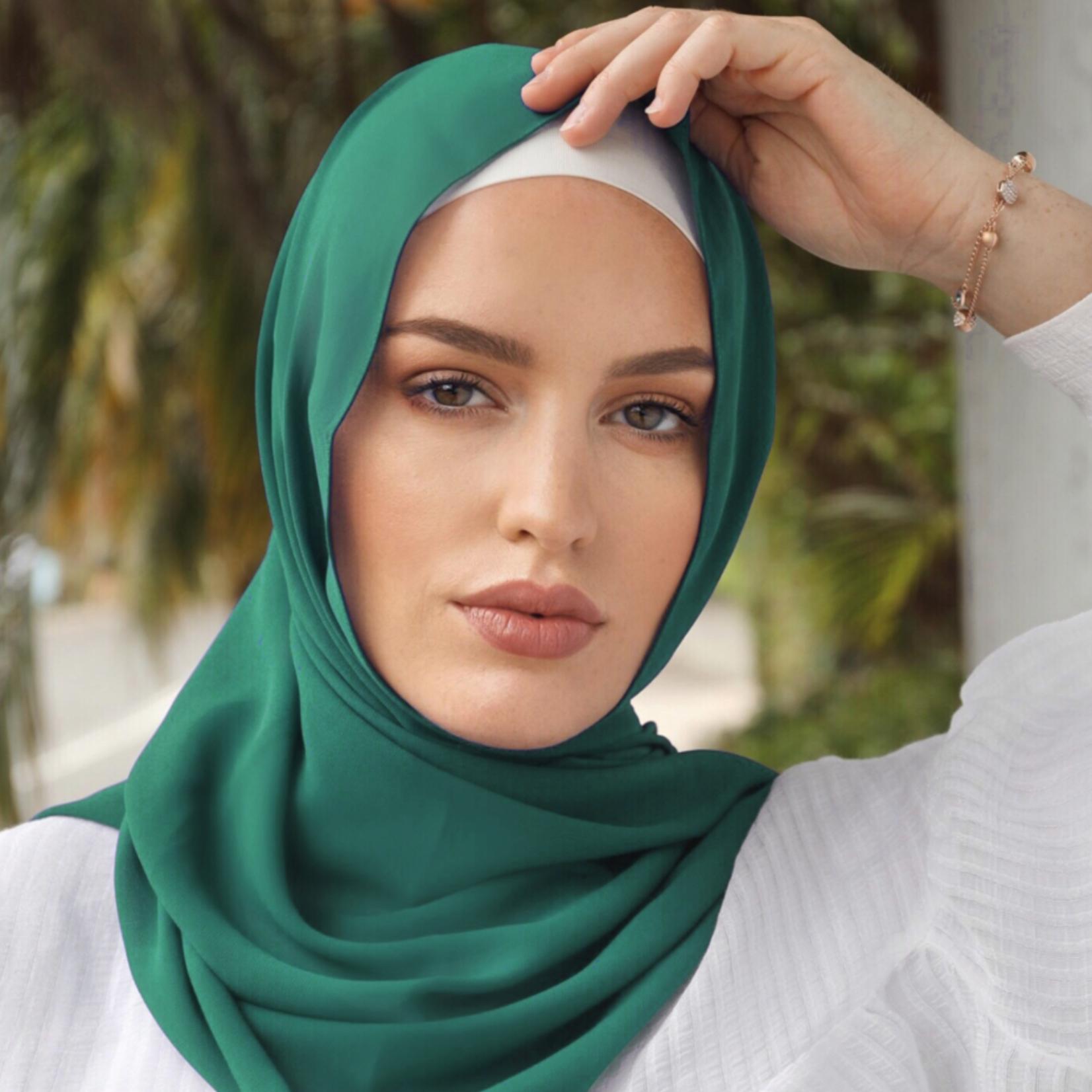 Nasiba Fashion Shawl Pine Green