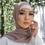 Nasiba Fashion Rose Beige LRG Scarf