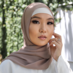 Nasiba Fashion Rose Beige scarf