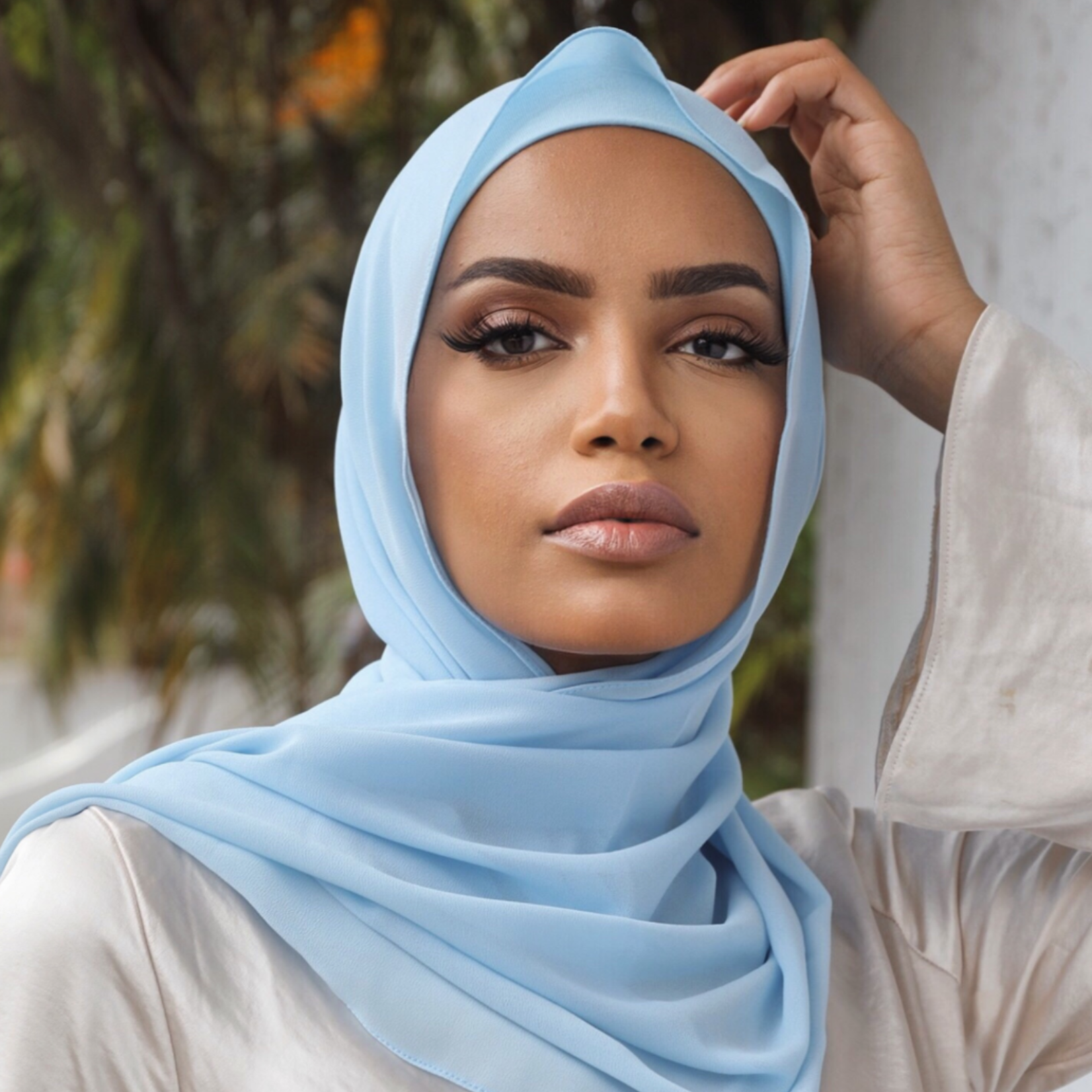 Nasiba Fashion Shawl Sky Blue