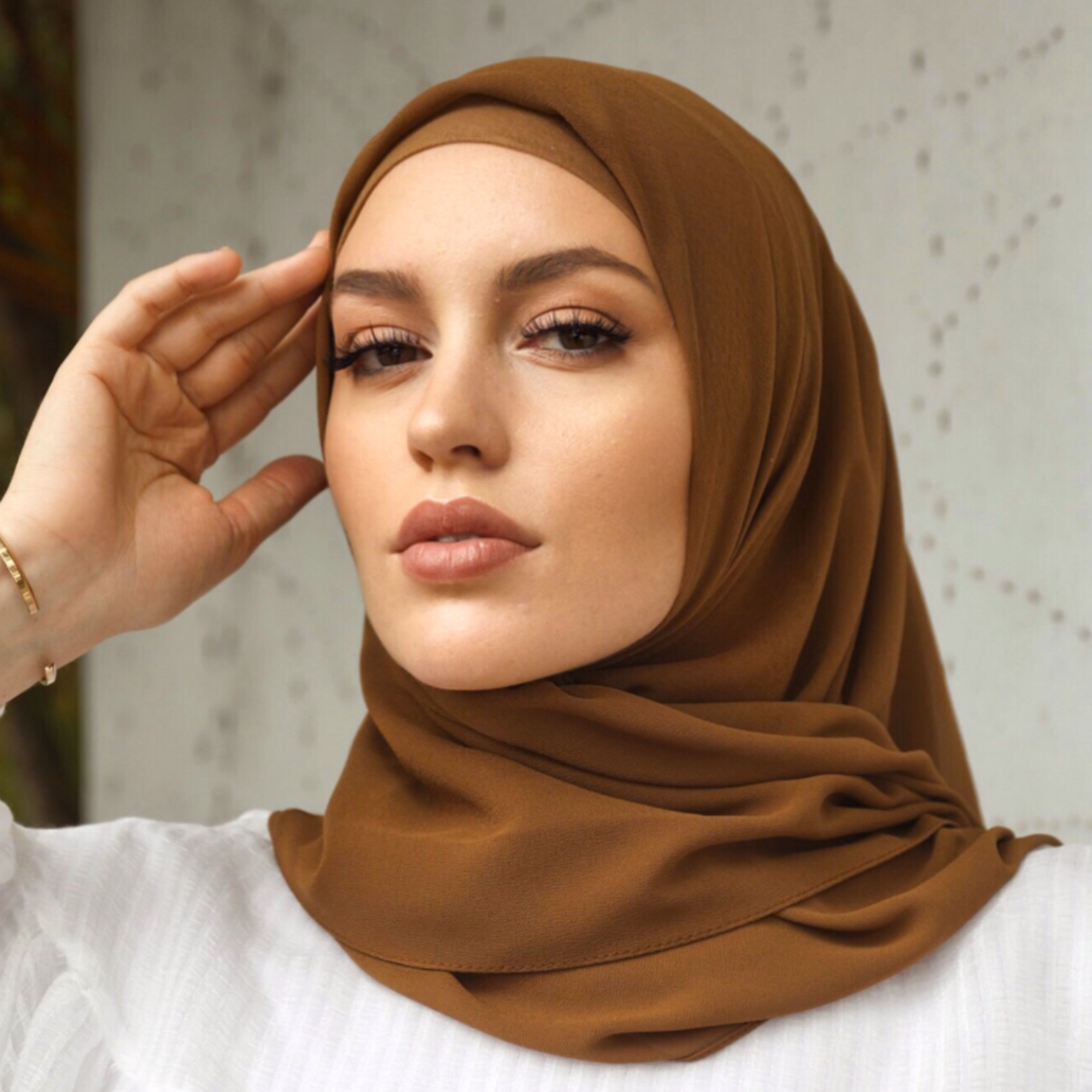 Nasiba Fashion Tawny LRG scarf