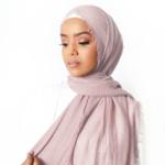 Nasiba Fashion Baby Pink Cotton Crinkle