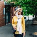 Nasiba Fashion Rosana Top Mustard