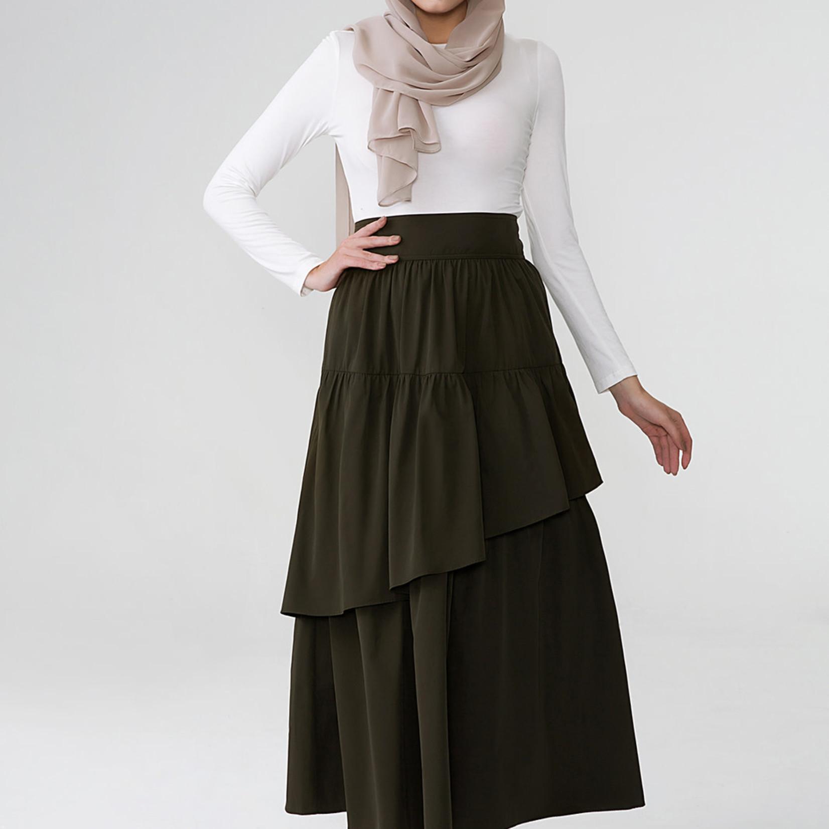 Hijab House Khaki Skirt