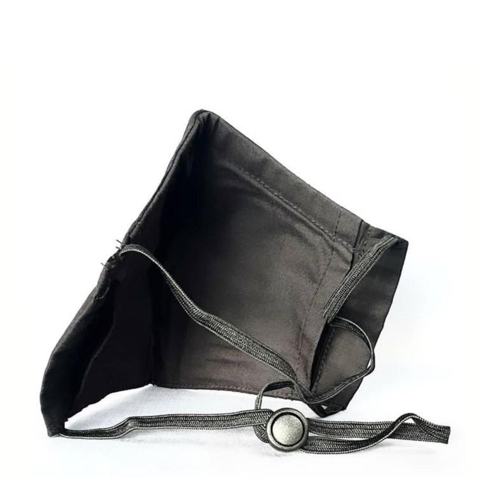 Nasiba Fashion Mask Black on Black