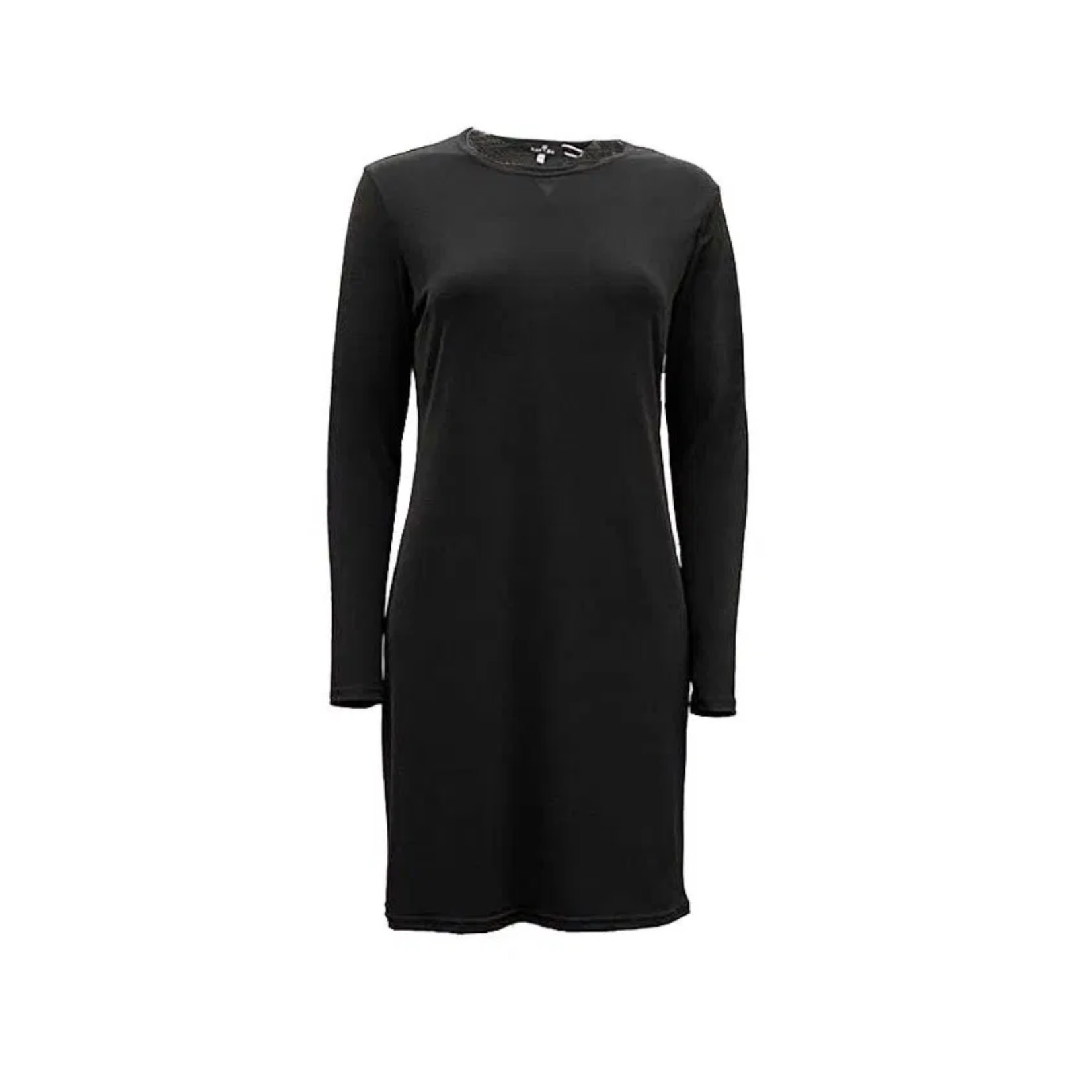 Nasiba Fashion Black Lycra Long top