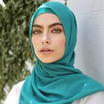 Nasiba Fashion Terquoise Shawl